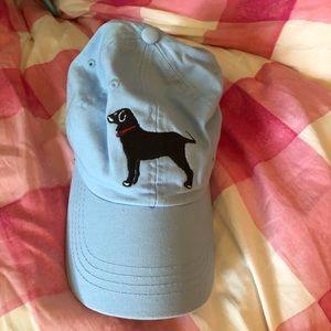 Black dog baseball hat